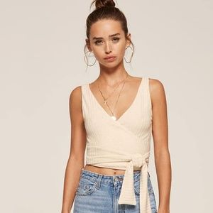 Reformation Ace Wrap Top